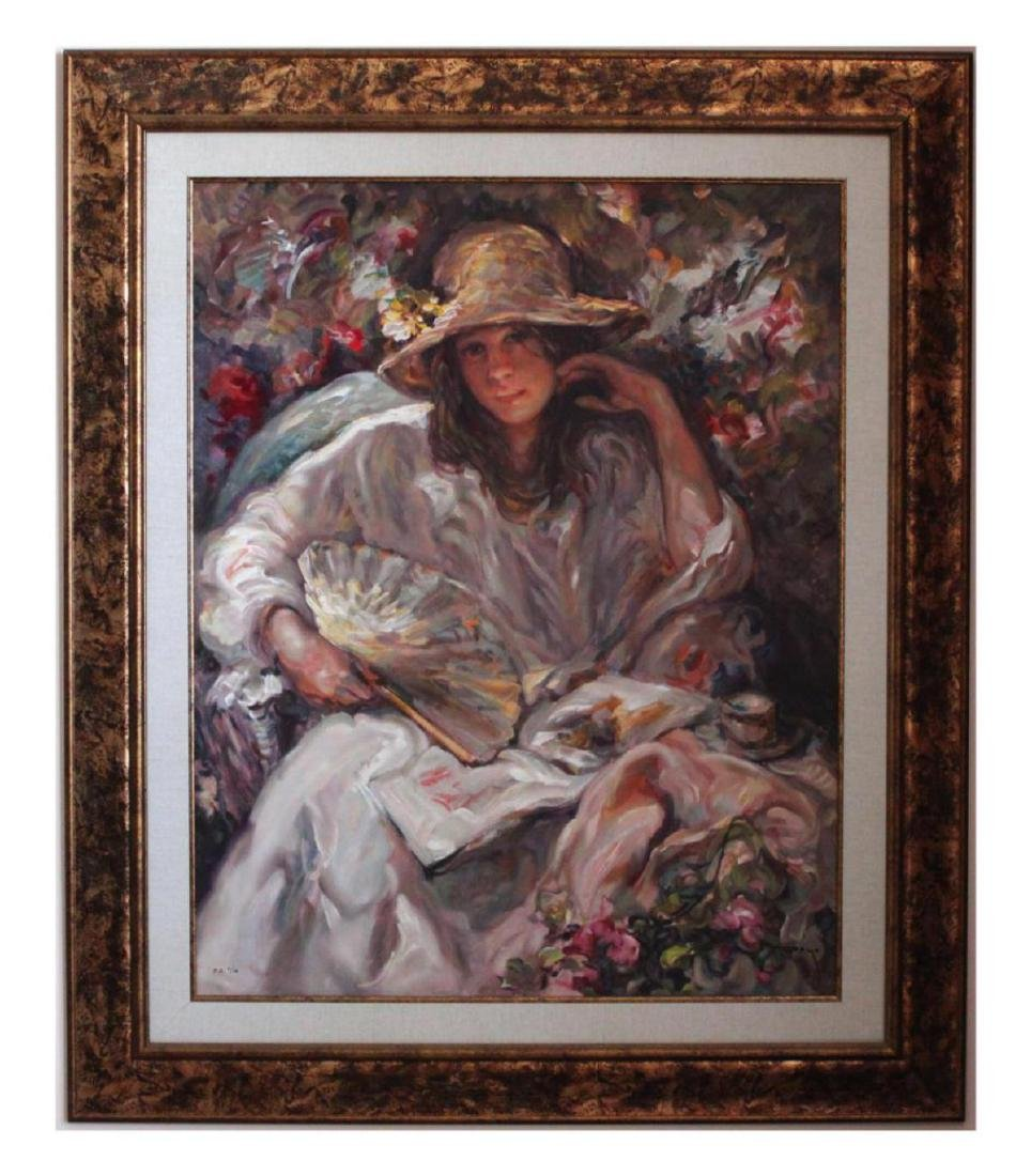 "JOSE ROYO ""SOL Y SOMBRA"" LE HS/N Serigraph on Wood"