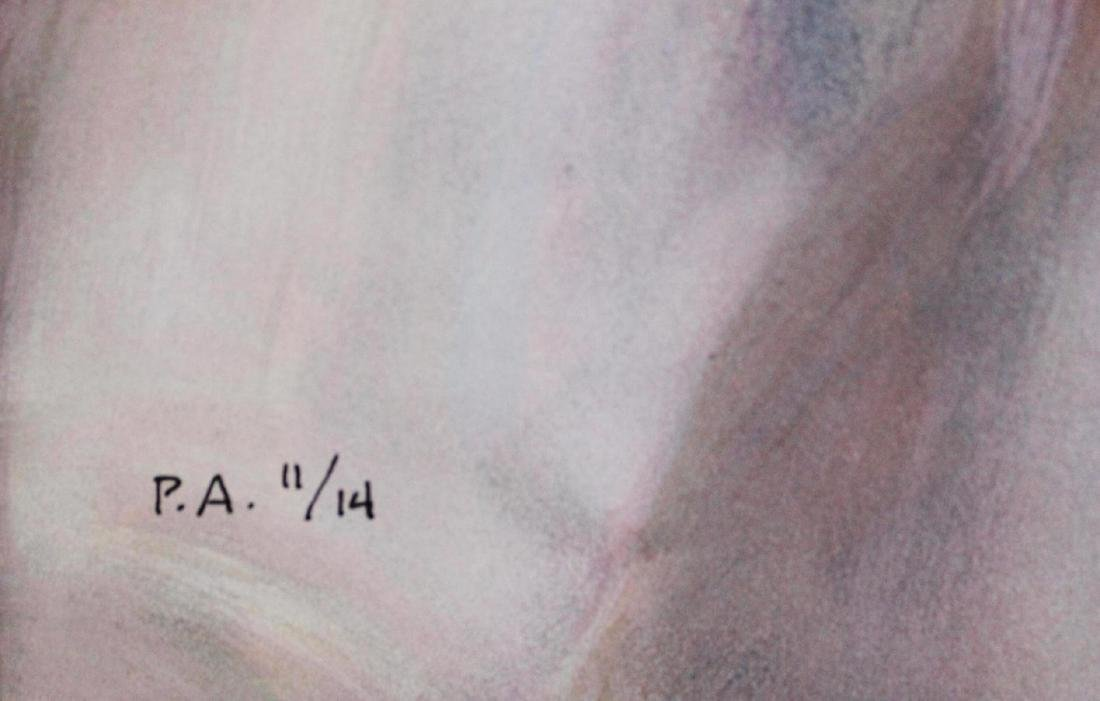 """JOSE ROYO """"SOL Y SOMBRA"""" LE HS/N Serigraph on Wood - 3"""