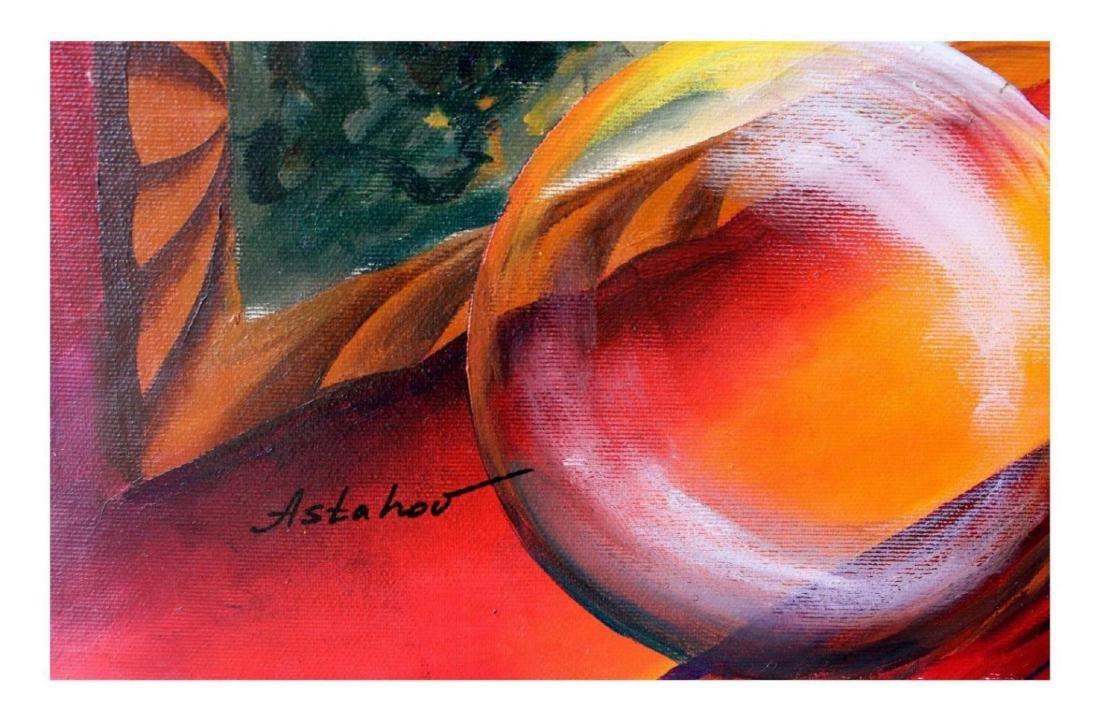 Alexander Astahov Original Oil on Canvas Mona Lisa - 2