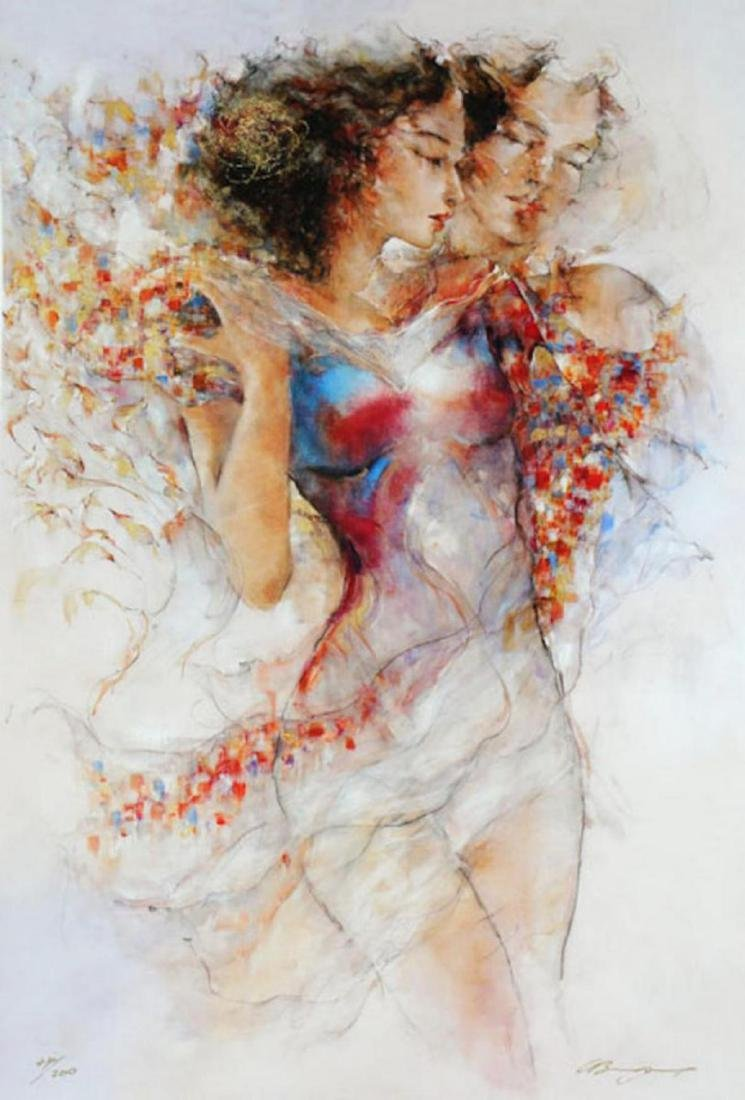 Gary Benfield- Devotion Limited Edition Giclee on