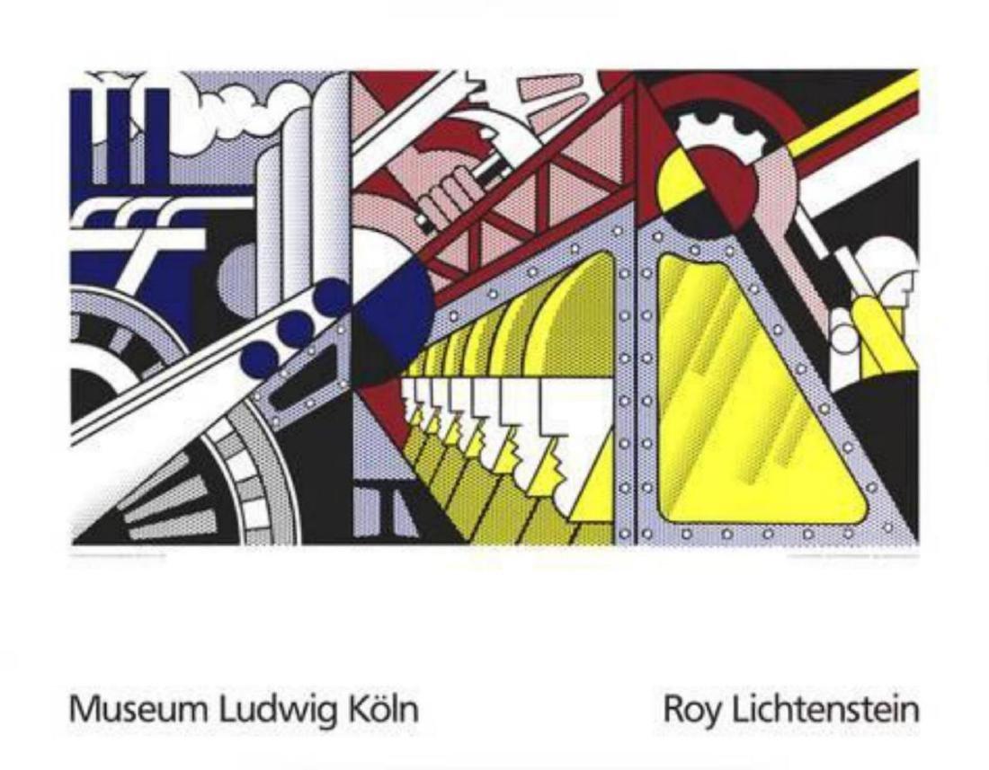 """Roy Lichtenstein """"Study for Preparedness"""" Serigraph"""