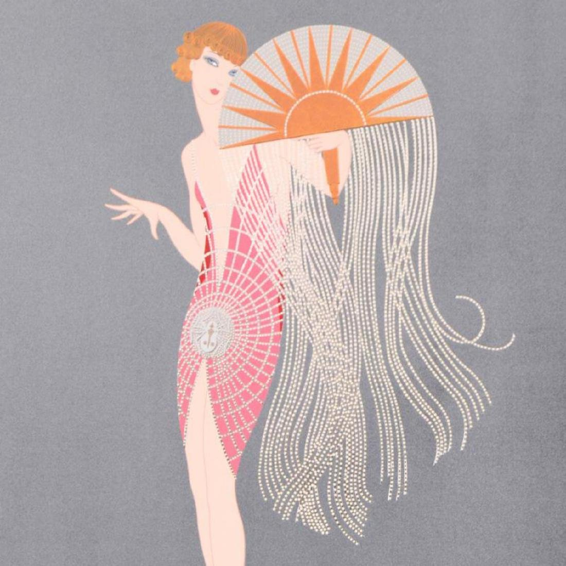 "Erte (1892-1990), ""Flapper"" Limited Edition Serigraph, - 2"