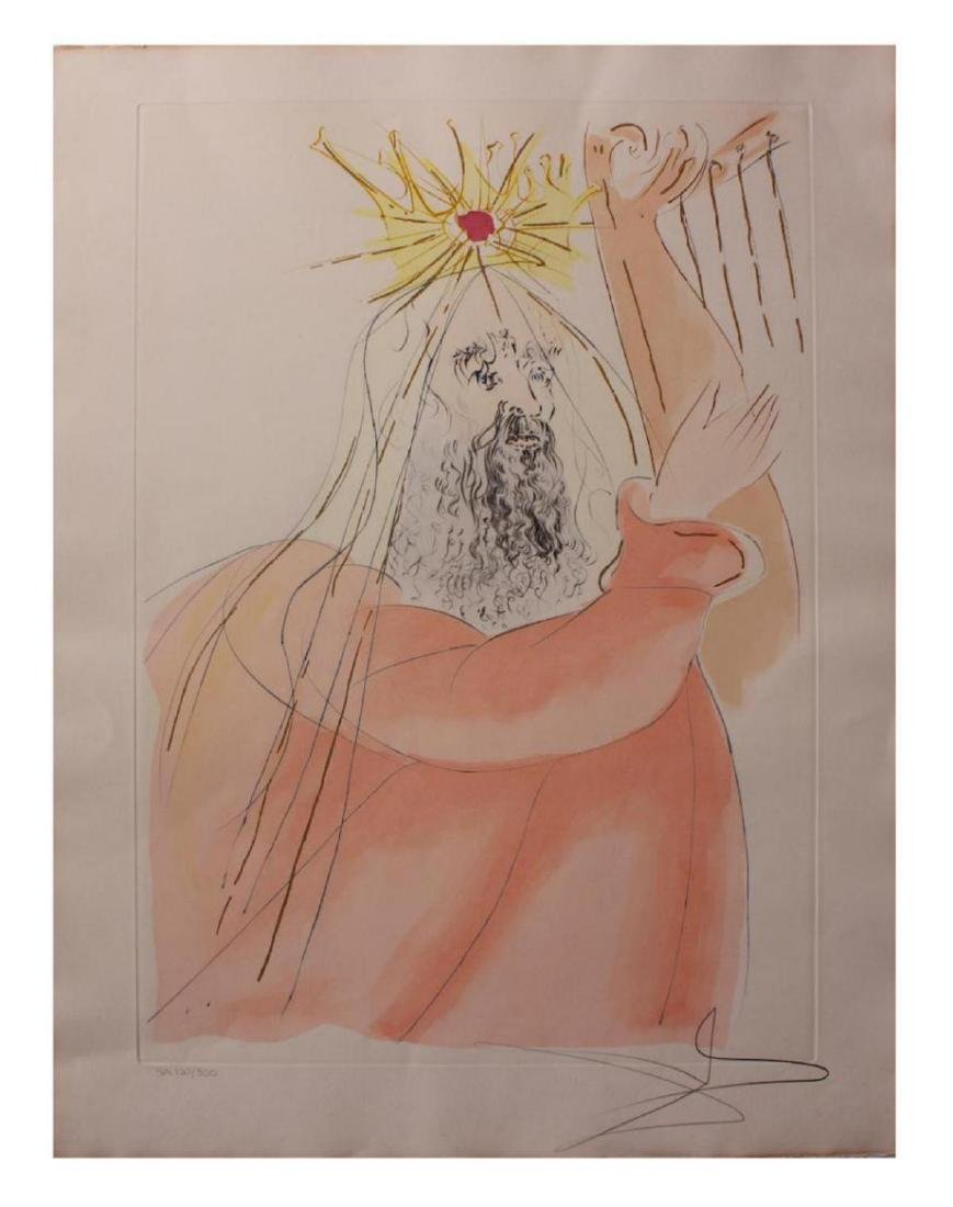 Salvador Dali Etchings King David Our Historical