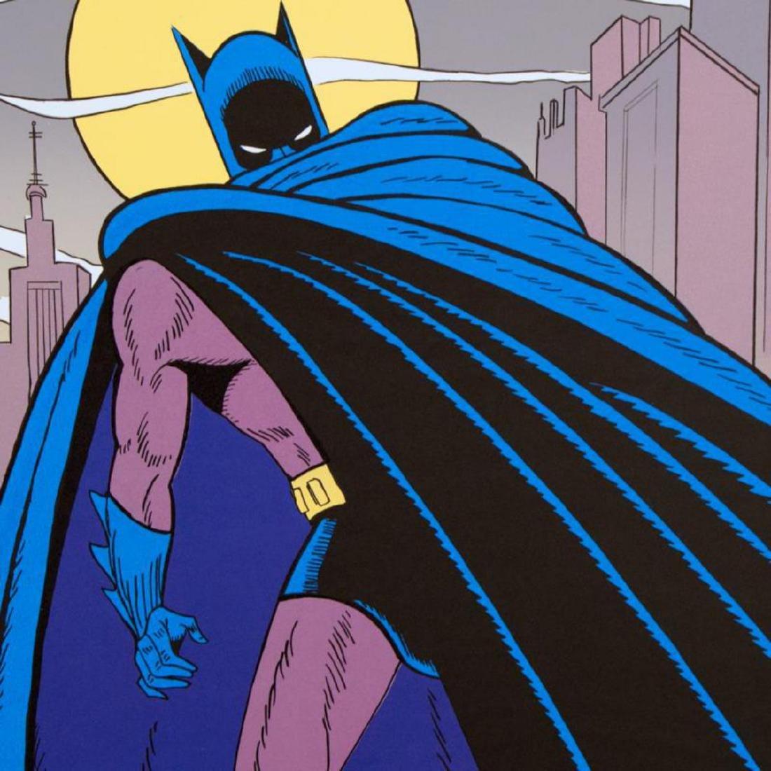 "Bob Kane (1915-1998) - ""Batman Over Gotham"" Extremely - 2"