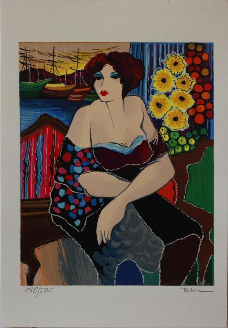 "Patricia Govezensky ""Mary"" HS/N LE Serigraph"