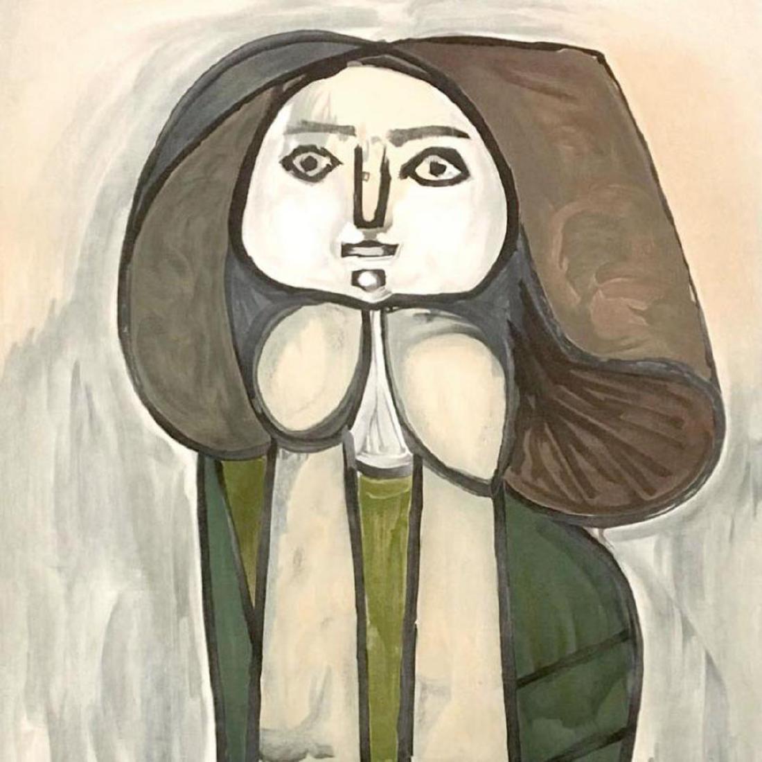 """Pablo Picasso (1881-1973) - """"Portrait De Femme A La - 2"""