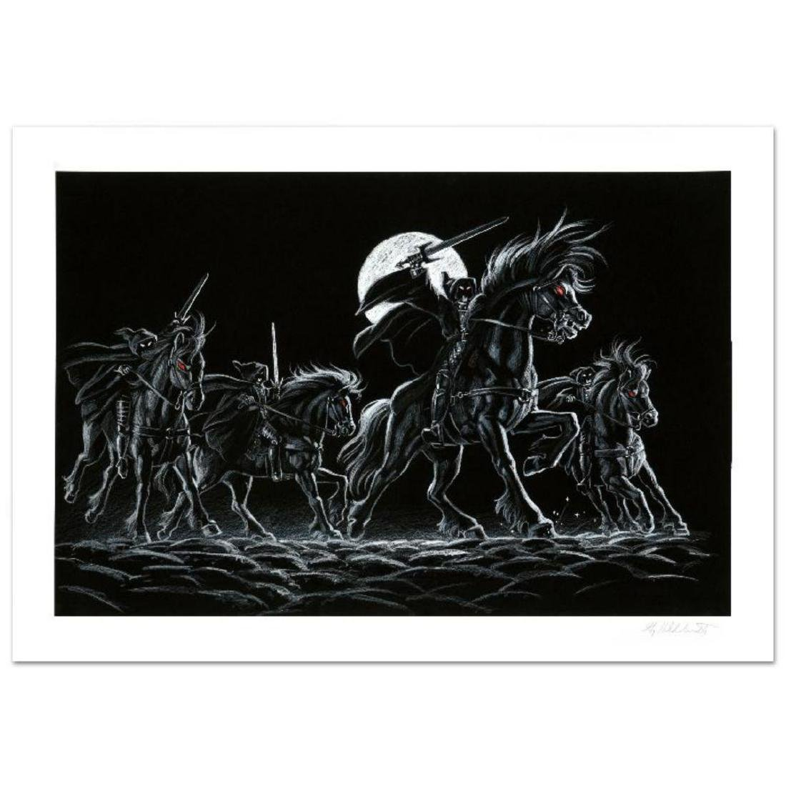 """Black Riders"" Limited Edition Giclee by Greg"