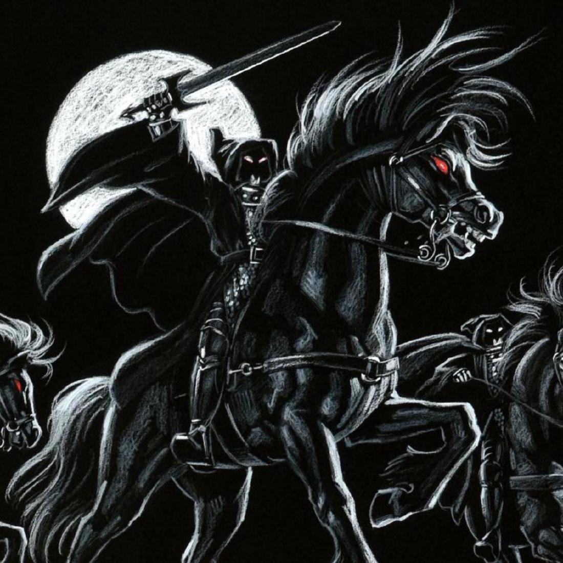 """Black Riders"" Limited Edition Giclee by Greg - 2"