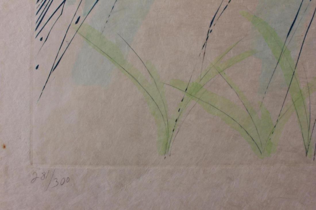 "Salvador Dali Original Watercolor on Etchings ""The - 4"