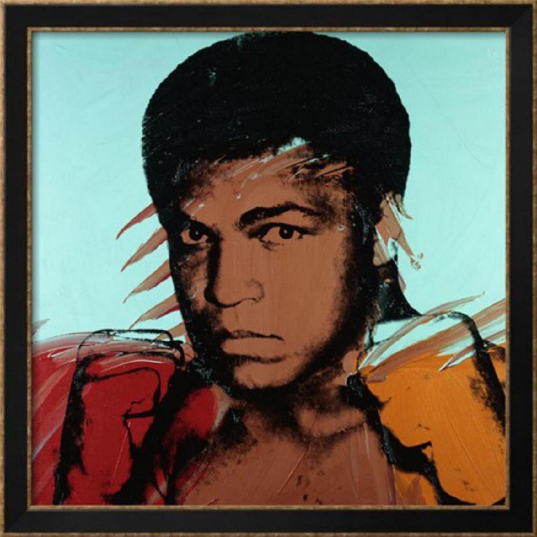 "Andy Warhol ""Muhammad Ali"", c. 1977 Custom Framed"