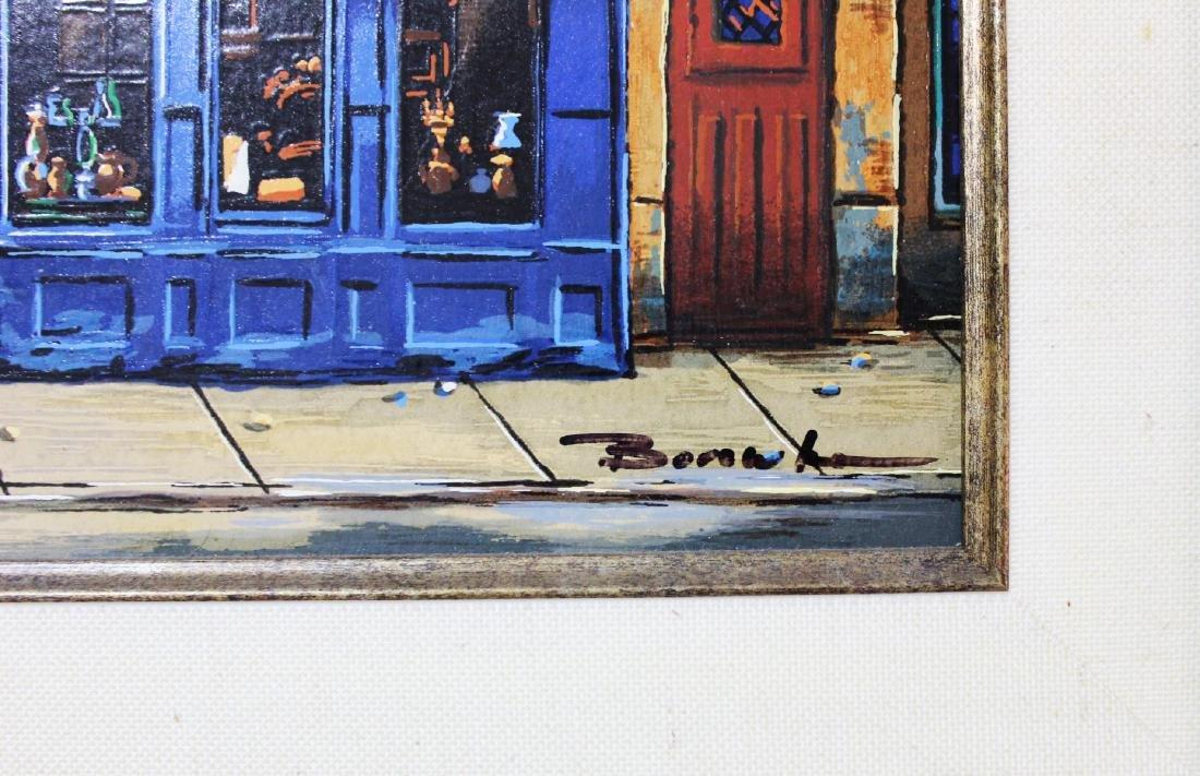 "Alexander Borewko- Serigraph on Panel ""Bar Astrid"" - 3"