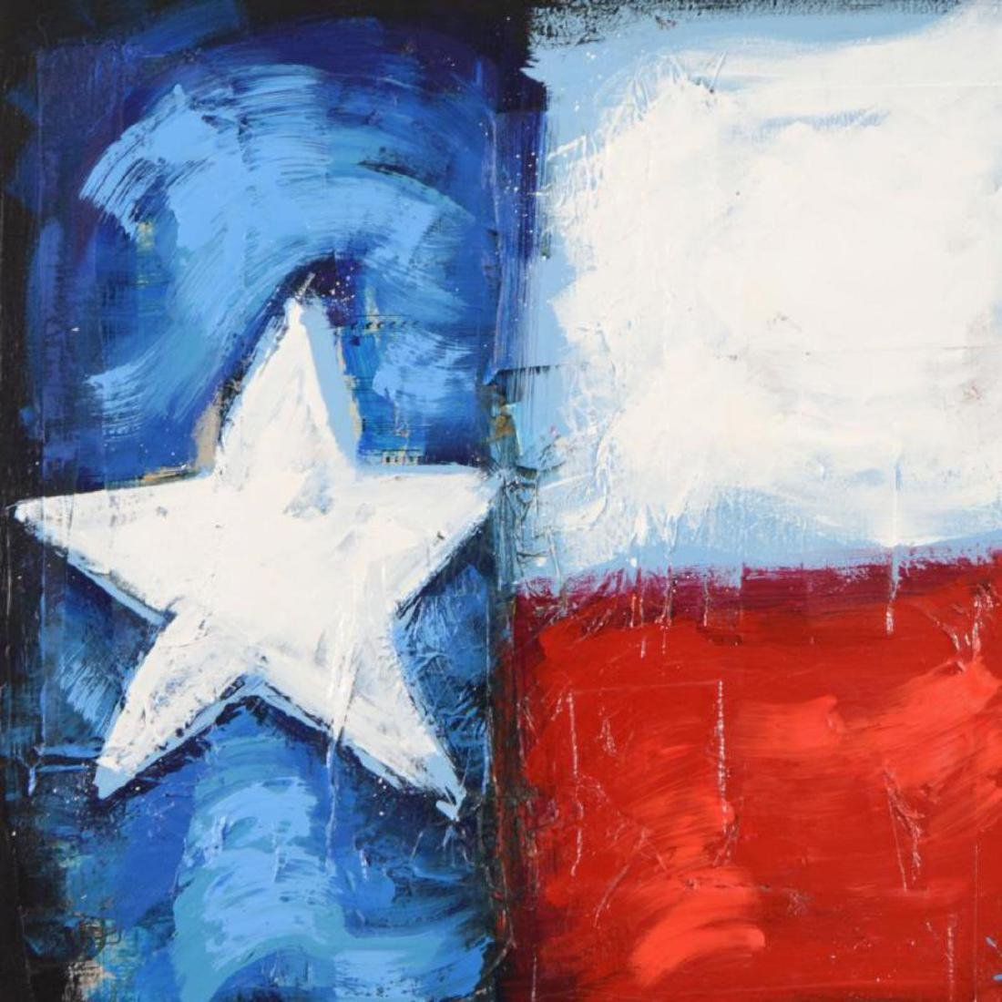 "KAT - ""Texas Rocks"" Original Acrylic Painting on - 2"