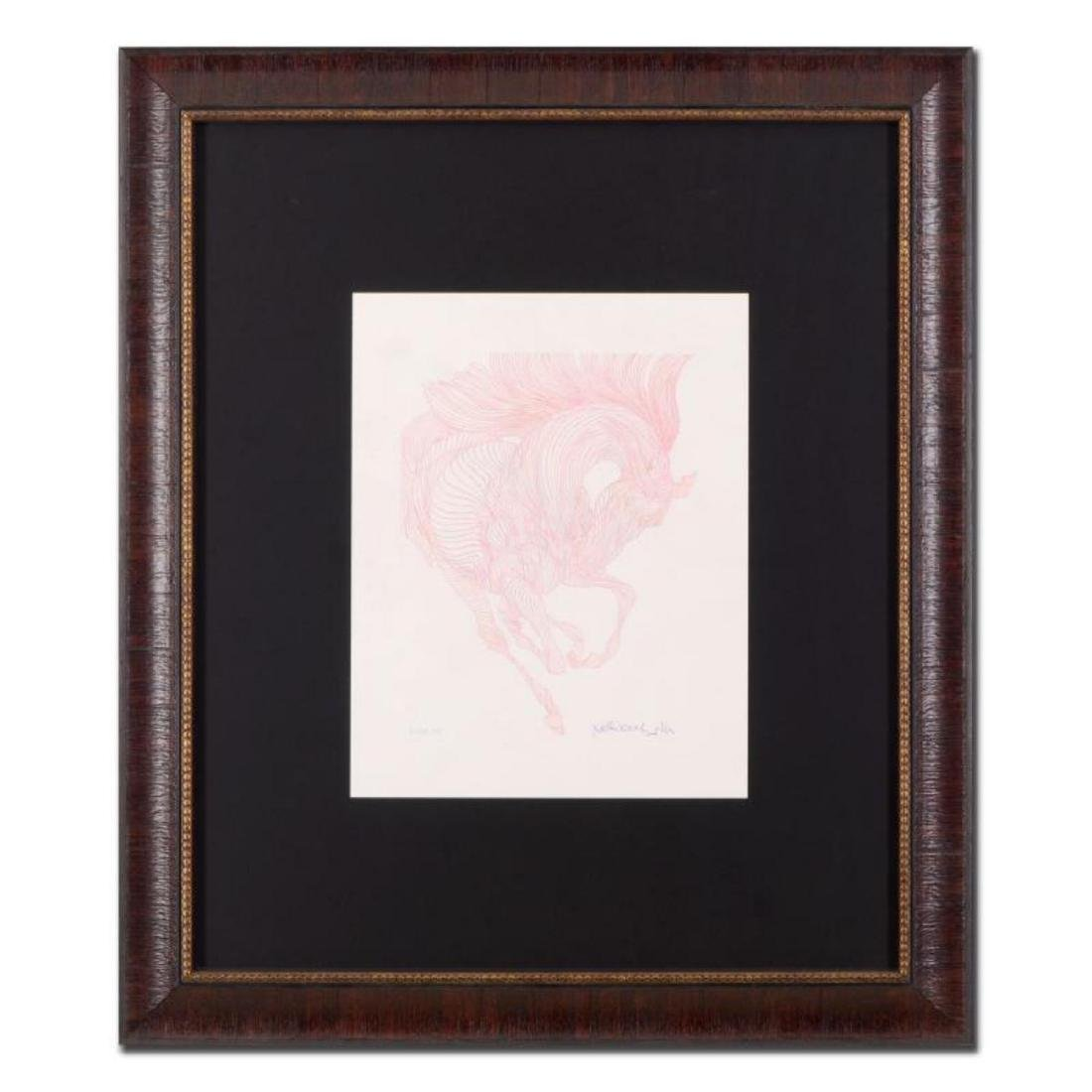 """Guillaume Azoulay - """"Essai AG"""" Framed Original Drawing,"""