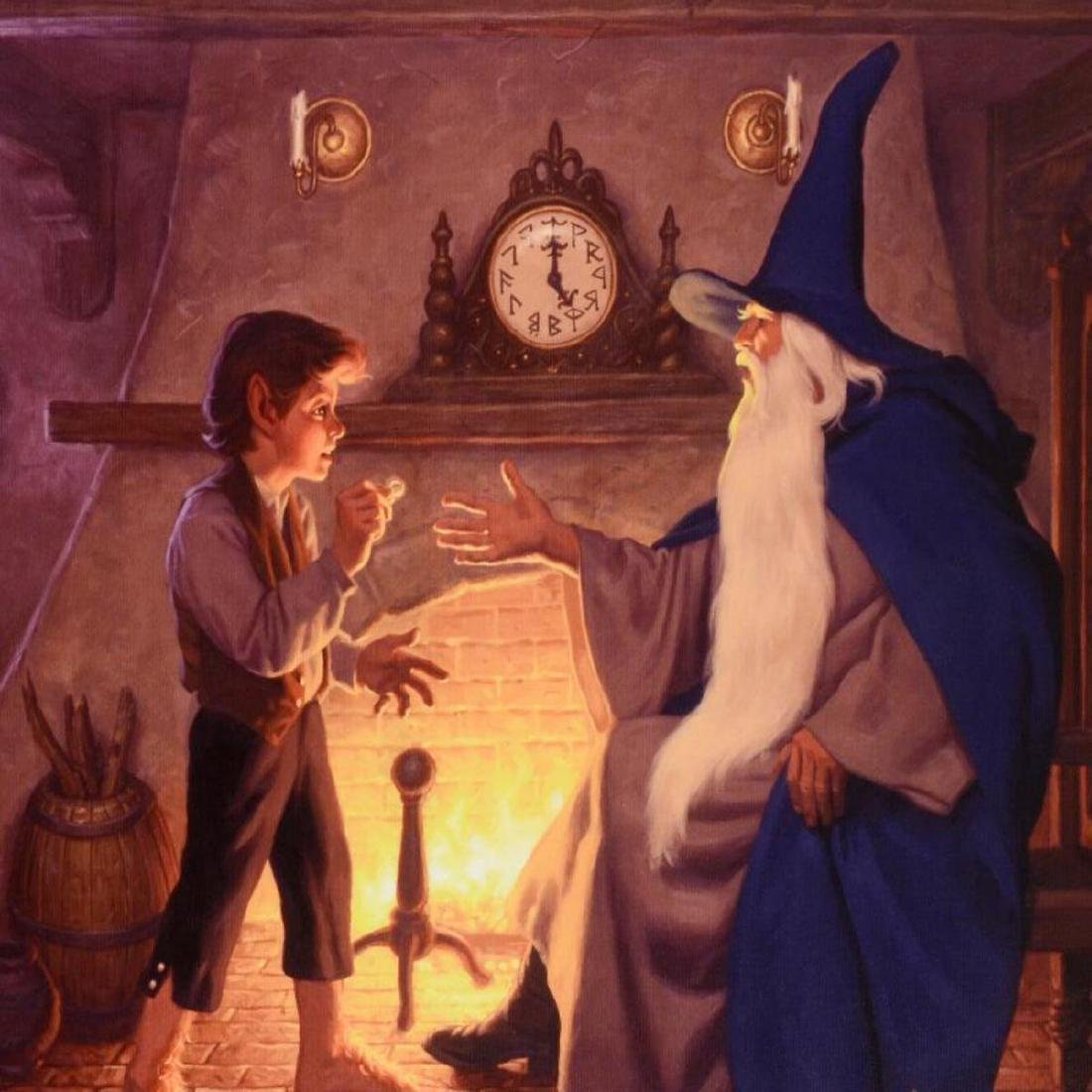 """""""The One Ring"""" Limited Edition Giclee on Canvas by The - 2"""