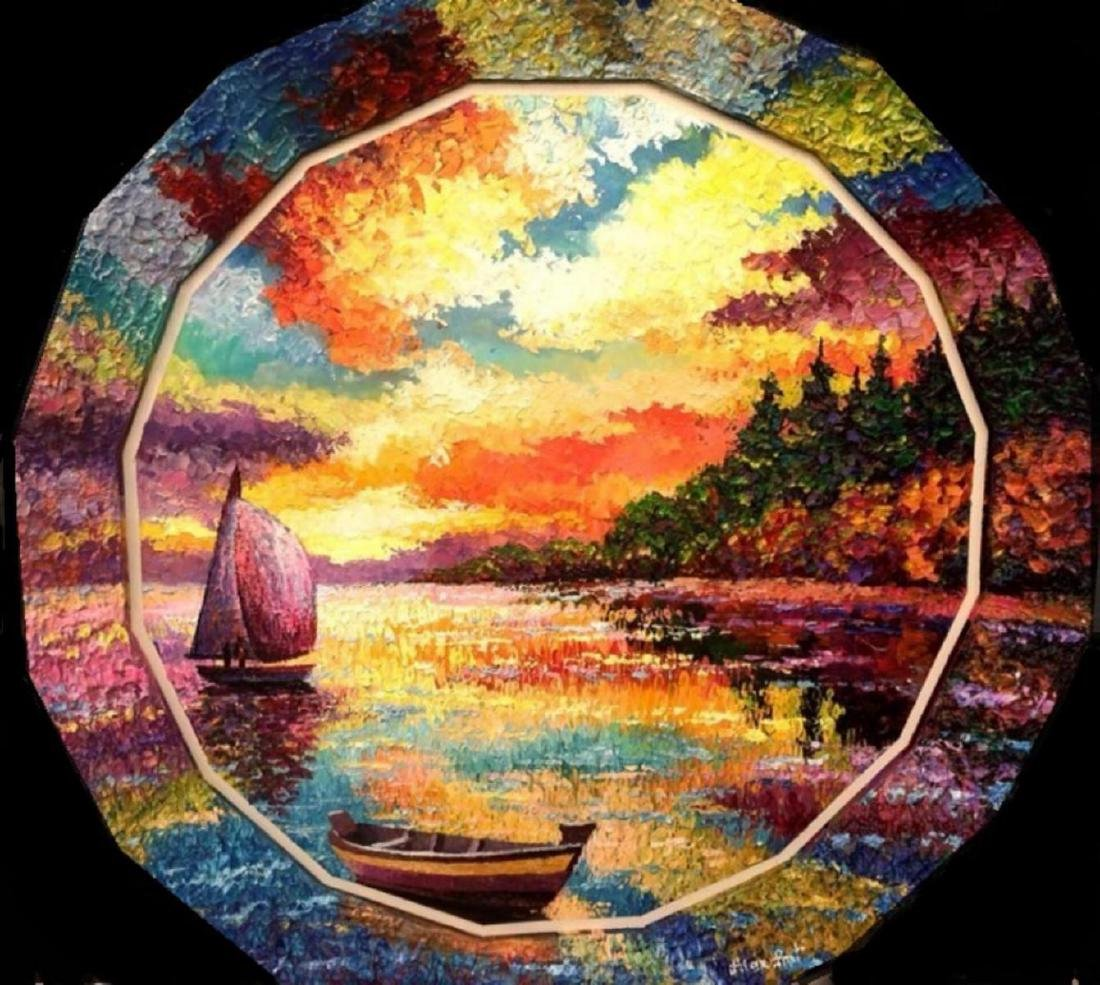 "Alexander Antanenka- ""Forgotten Lagoon"" Original"