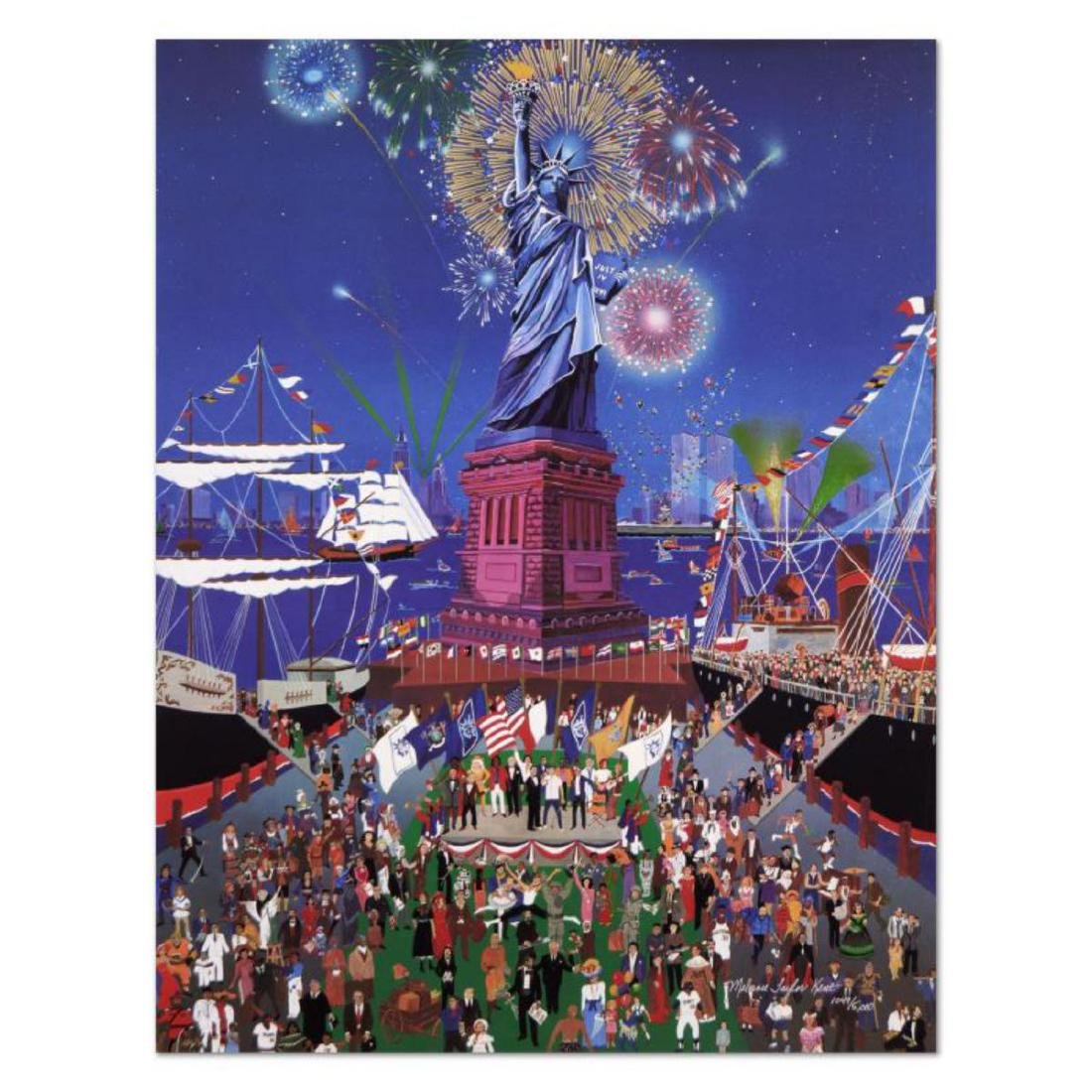 "Melanie Taylor Kent - ""Statue of Liberty"" Limited"