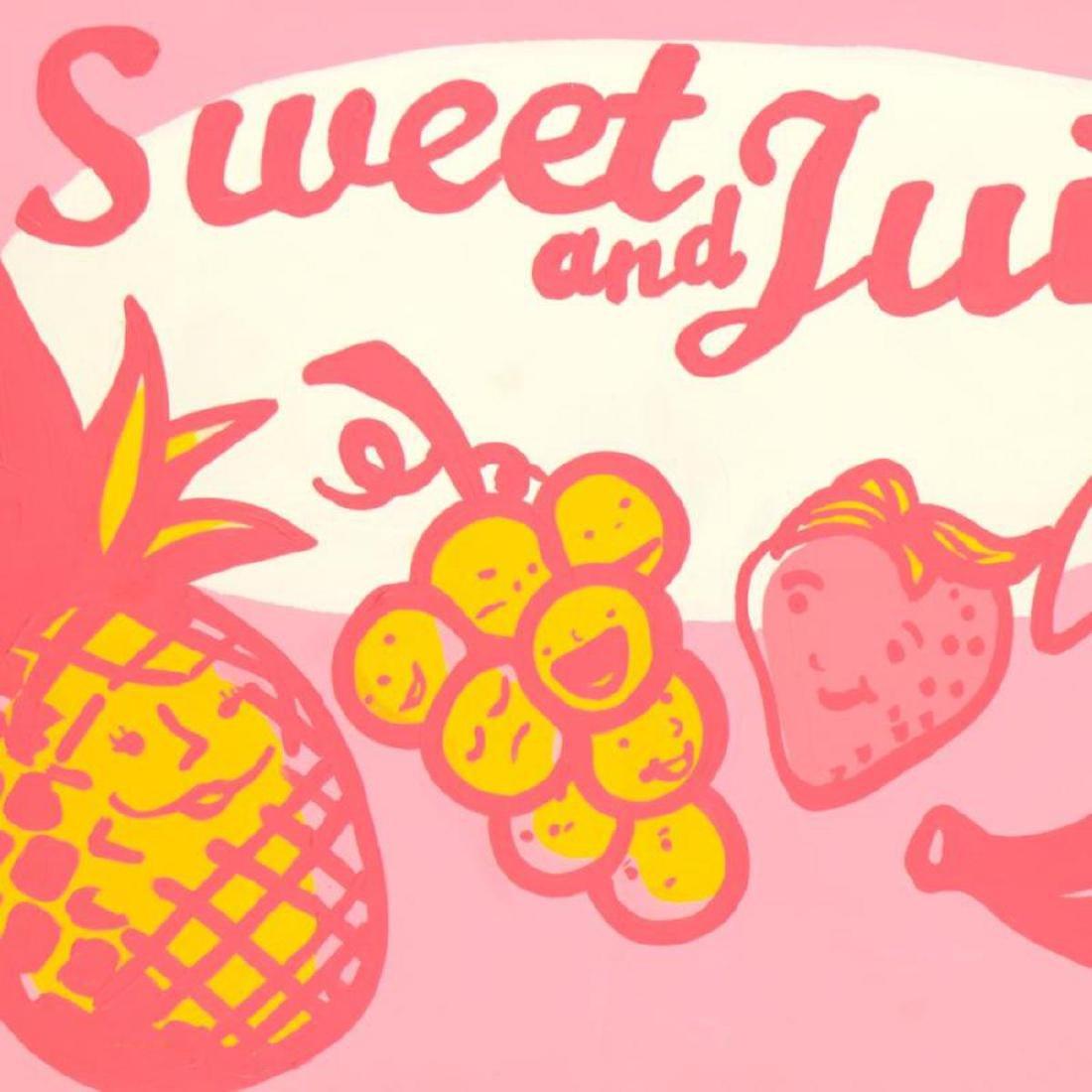 "Todd Goldman - ""Sweet and Juicy"" Original Acrylic - 2"