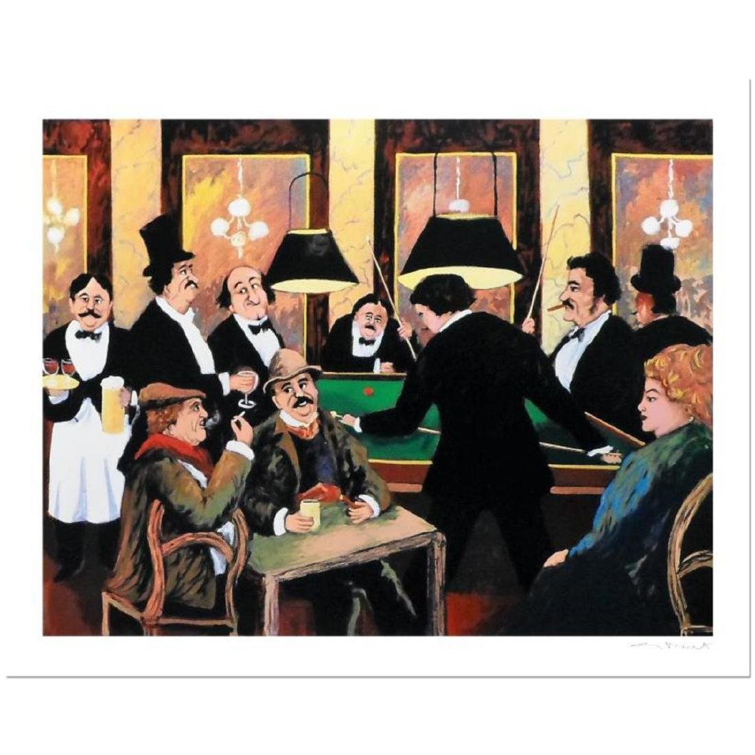 "Guy Buffet - ""Billiards"" Limited Edition Serigraph;"