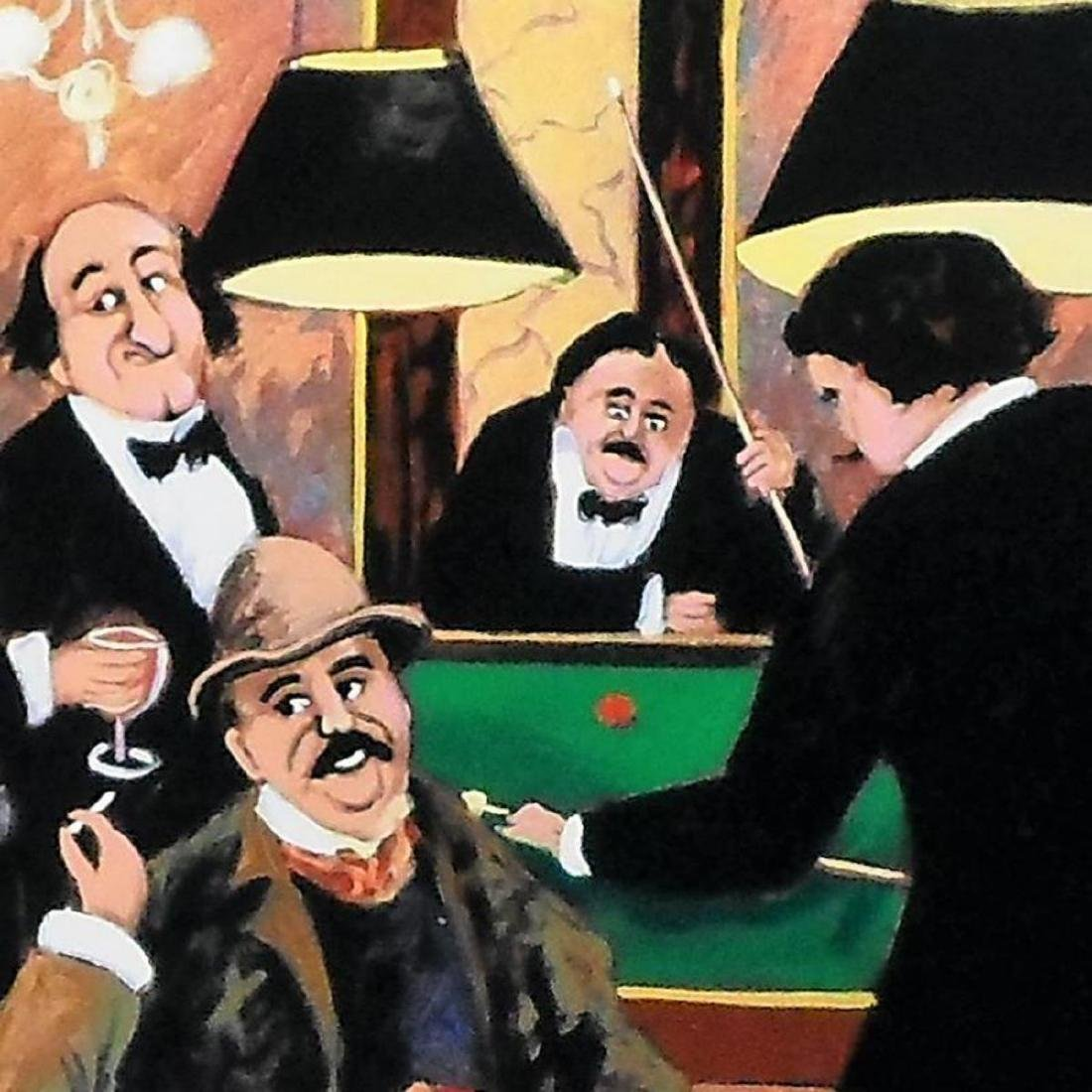 "Guy Buffet - ""Billiards"" Limited Edition Serigraph; - 2"