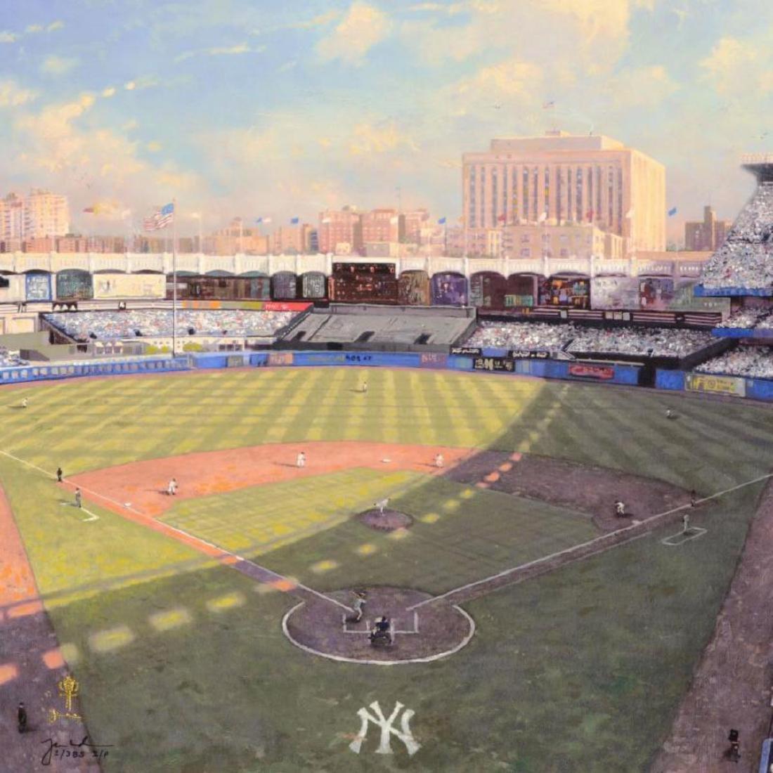 """Thomas Kinkade (1958-2012) - """"Yankee Stadium"""" Hand - 2"""