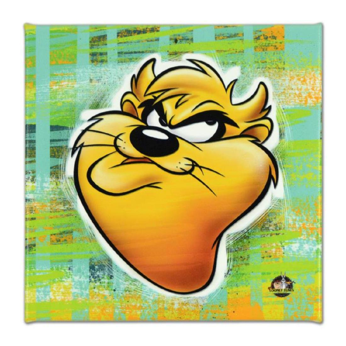 "Looney Tunes - ""Taz"" Limited Edition on Gallery Wrapped"