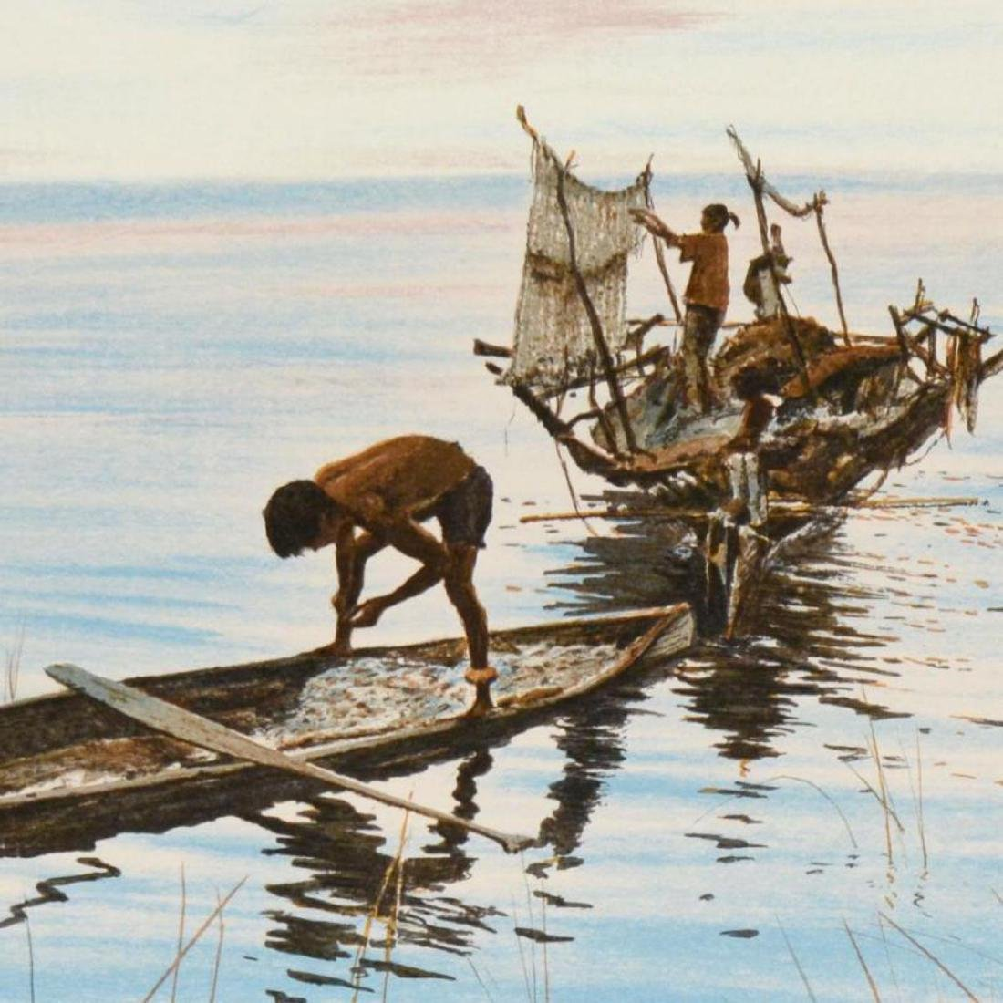 "William Nelson - ""Philippine Fisherman"" Limited Edition - 2"