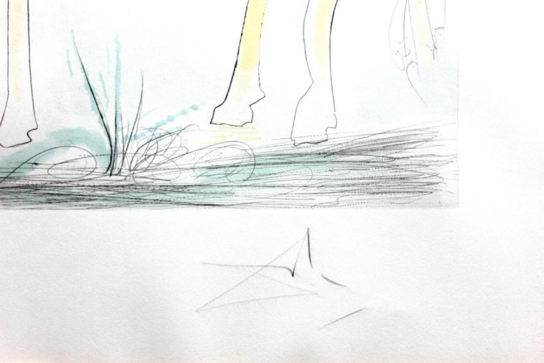 """Salvador Dali """"Adam and Eve"""" 71-8 (K) Original - 4"""