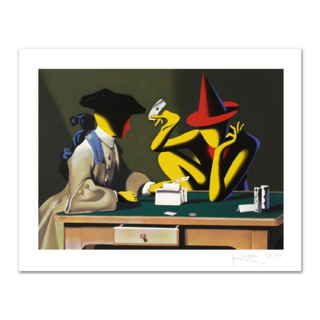"Mark Kostabi - ""Chance Encounter"" Limited Edition"