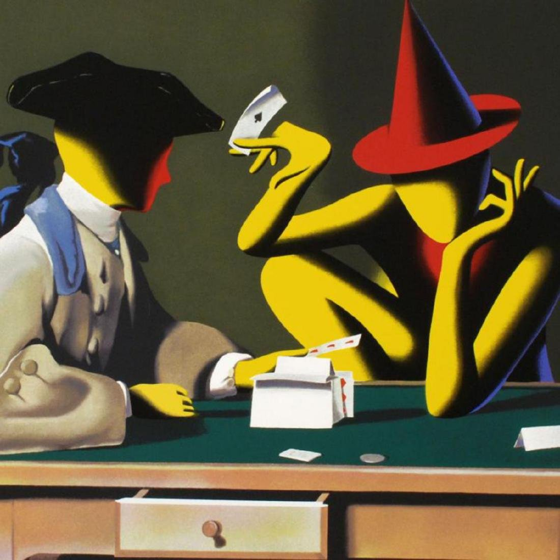 "Mark Kostabi - ""Chance Encounter"" Limited Edition - 2"