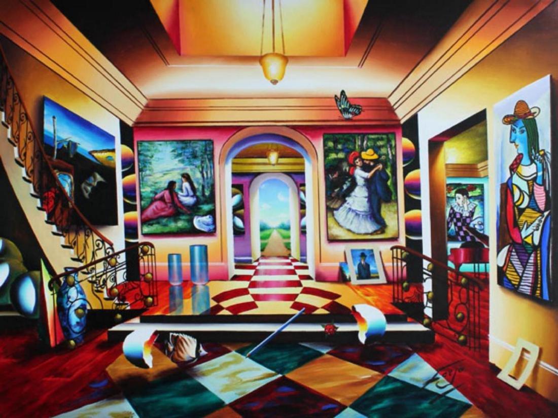 Ferjo Giclee on Canvas Serenity and Joyful Dance