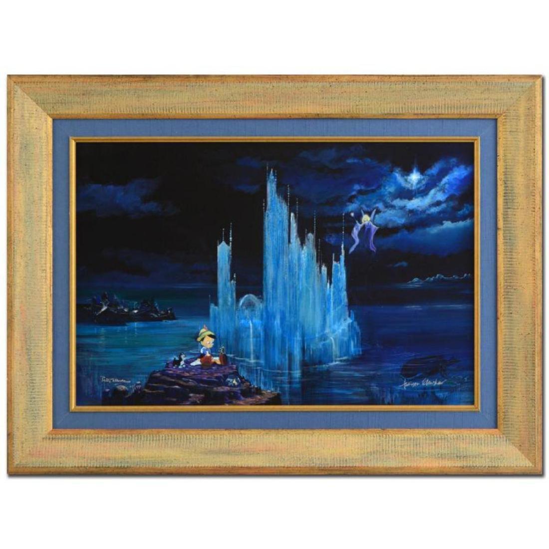 "Peter (1913-2007) and Harrison Ellenshaw - ""Blue"