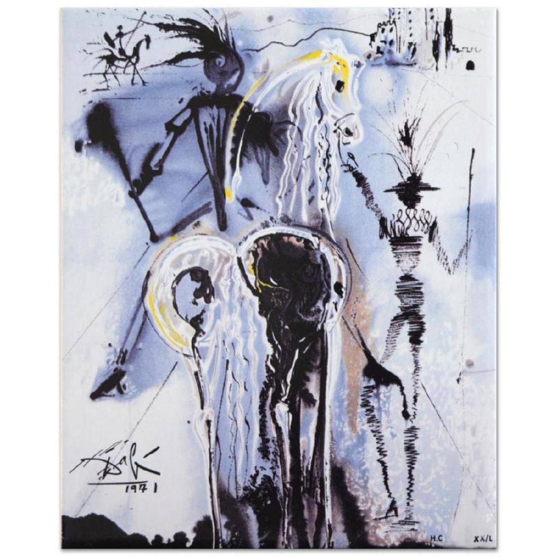 "Salvador Dali (1904-1989) - ""Don Quixote"" SOLD OUT"