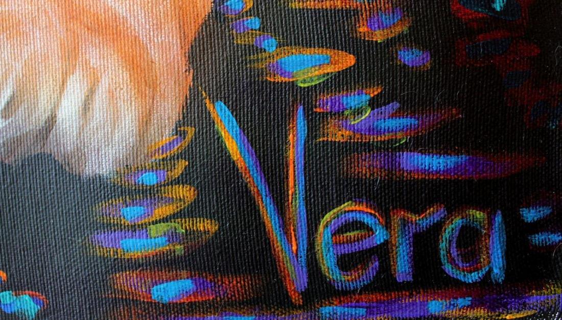 Vera V. Goncharenko Original Oil on Canvas Pop Art - 2
