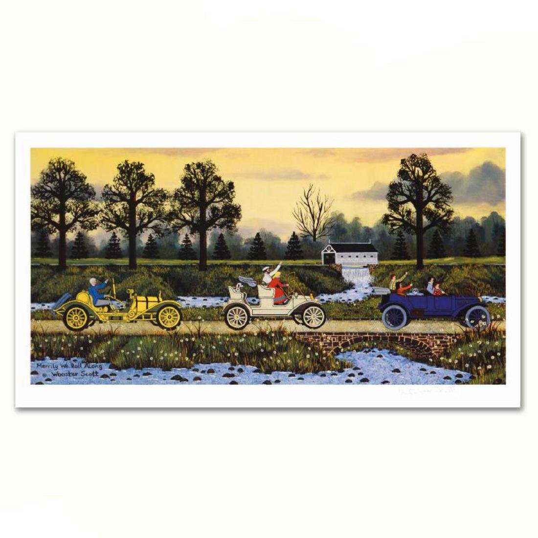"""""""Merrily We Roll Along"""" Limited Edition Lithograph by"""