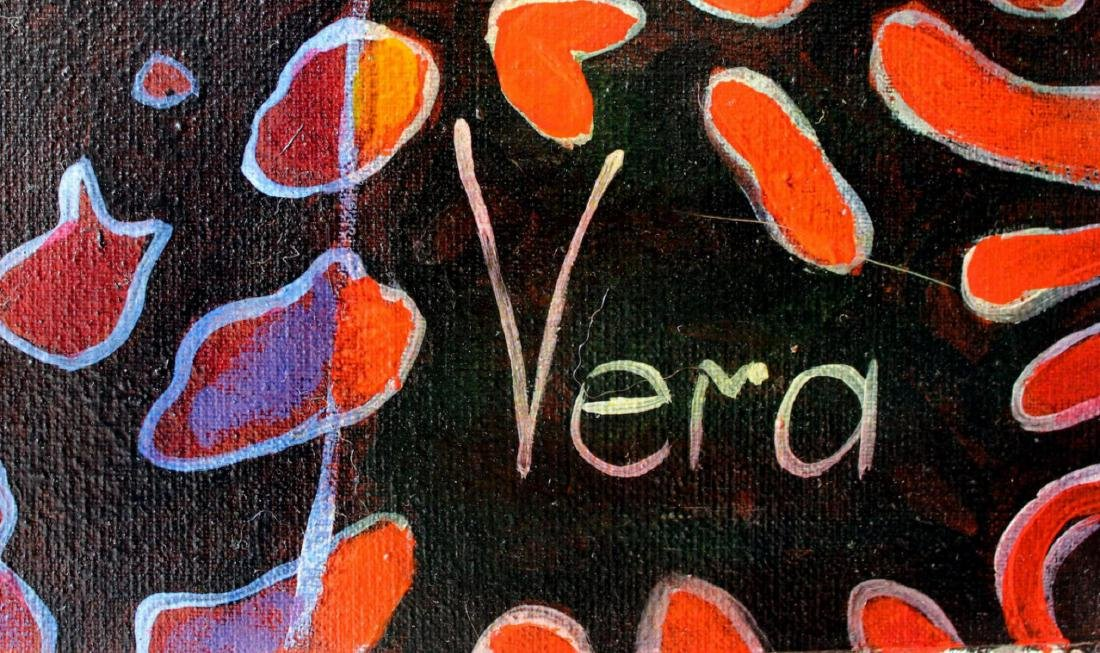 "Vera V. Goncharenko Original Oil on Canvas ""Wild Tango"" - 2"
