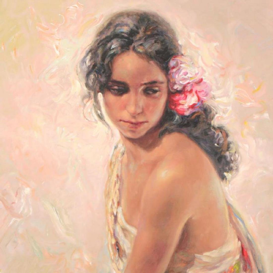 """Royo - """"Andaluza"""" Framed Limited Edition Serigraph, - 2"""