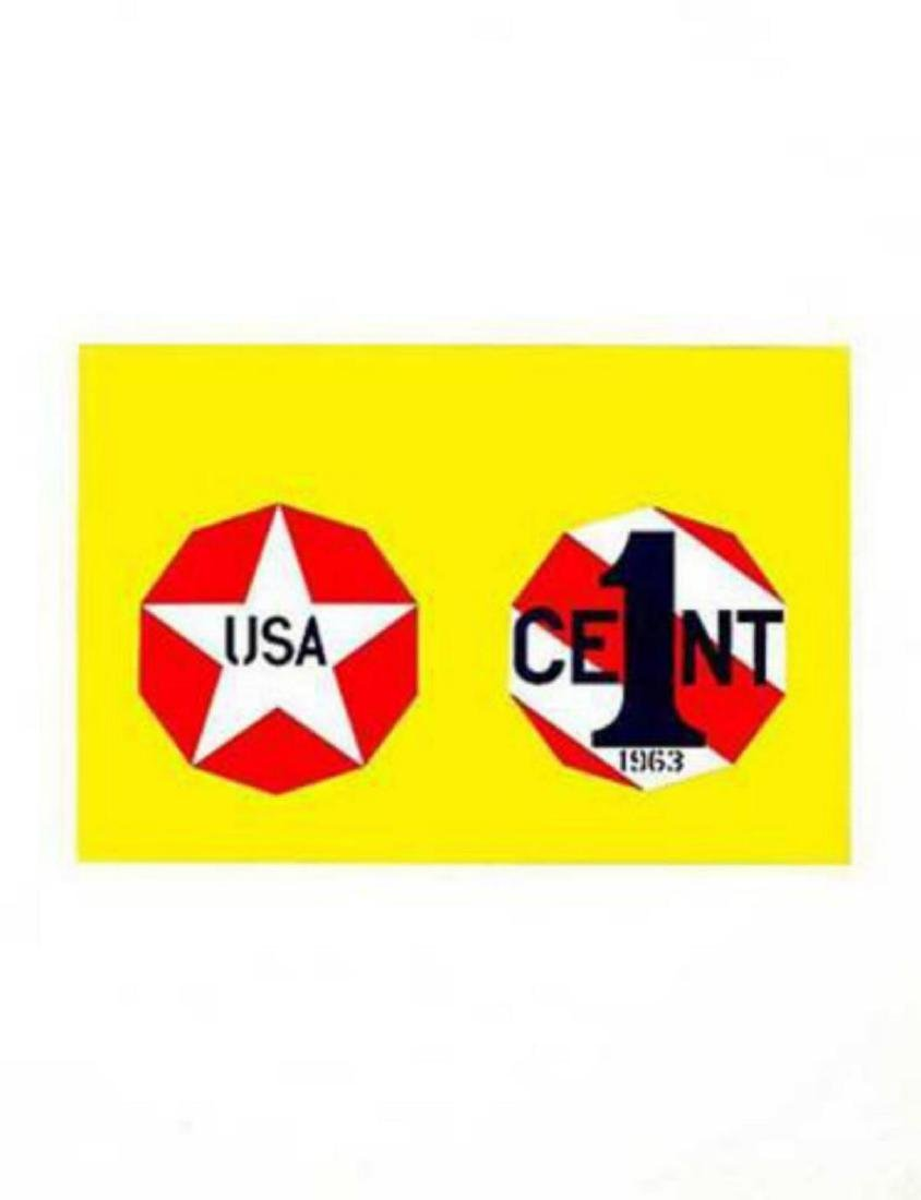 Robert Indiana- The New Glory Penny (from the American