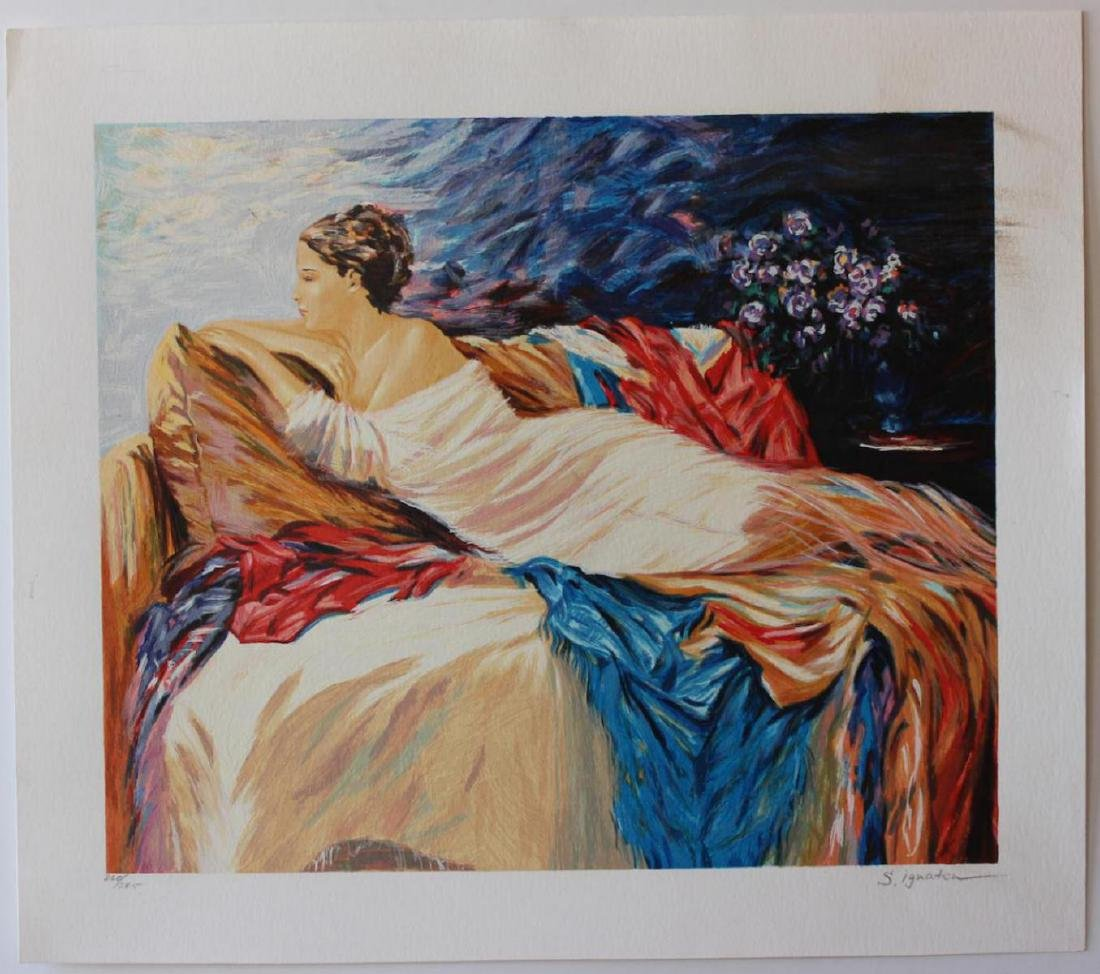 Sergey Ignatenko Limited Edition Fine Art Mary