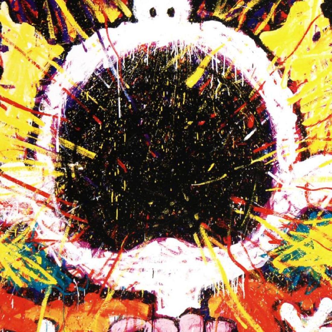 """Big Loud Screaming Blonde"" Fine Art Poster by Renowned - 2"