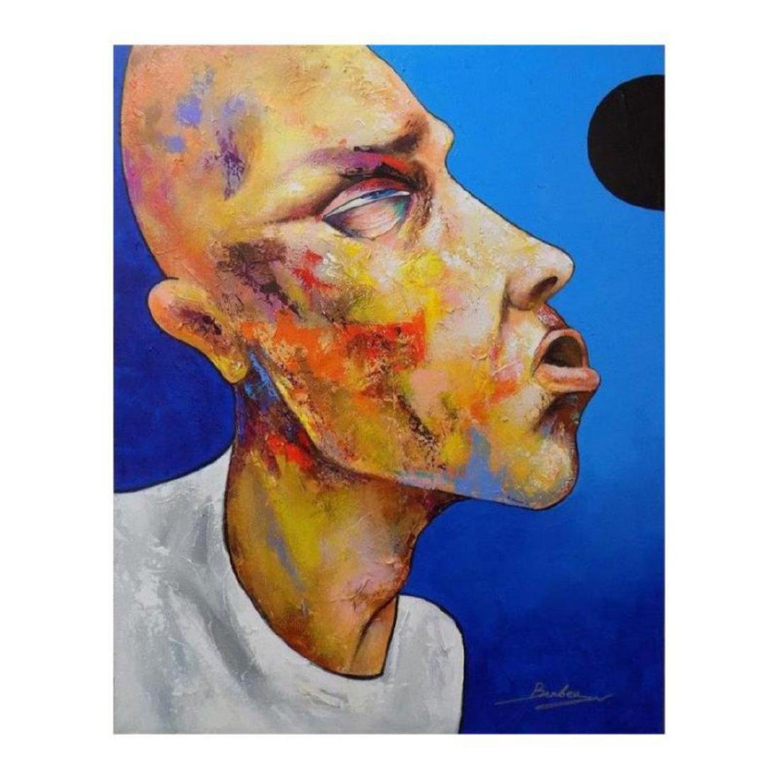 "Berberyan, ""Denial"" Original Mixed Media on Canvas with"