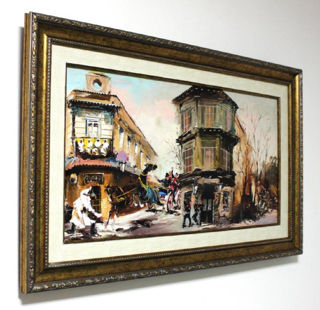 Shalva Phachoshvili Custom Framed Original oil on - 3