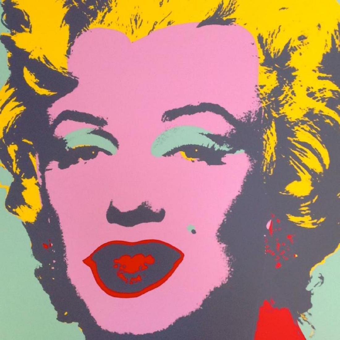 "Andy Warhol ""Marilyn 11.23"" Silk Screen Print from - 2"