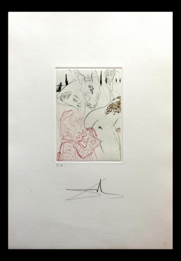 Salvador Dali- Le Jument de Compere Pierre Original