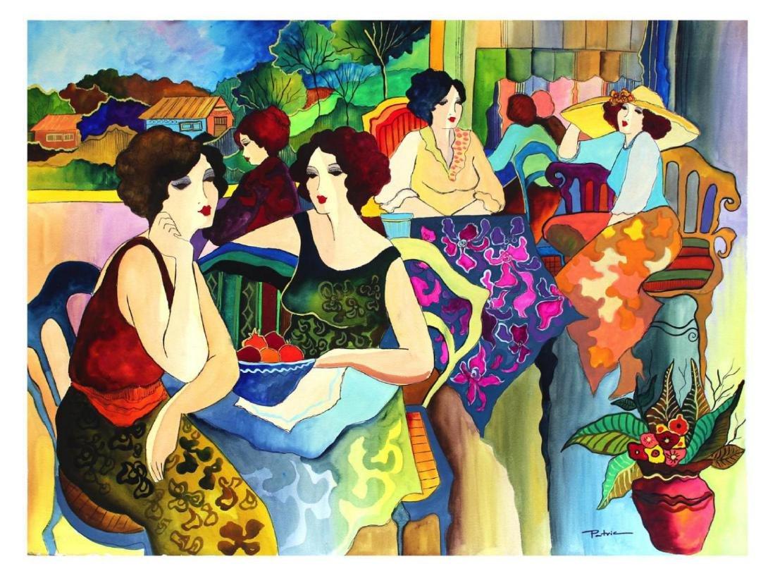 Patricia Govezensky Original Watercolor Wake Up One Day