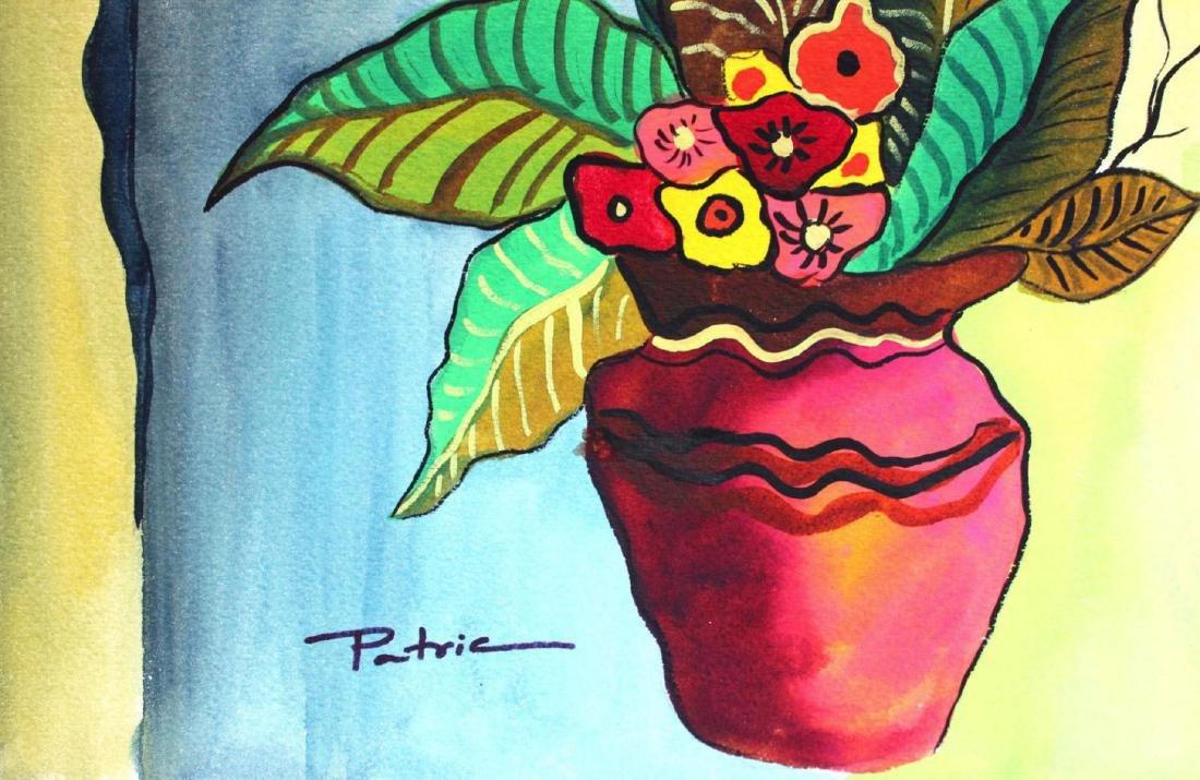 Patricia Govezensky Original Watercolor Wake Up One Day - 2