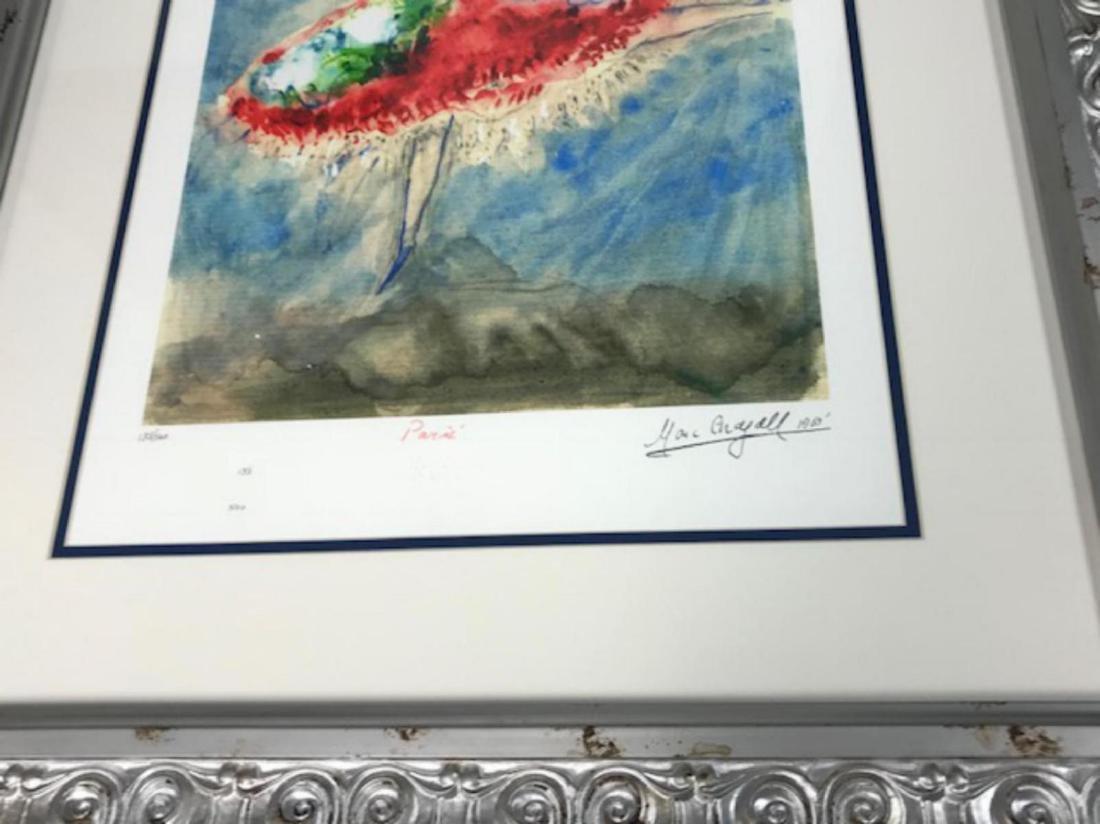 Marc Chagall Custom Framed Lithograph Limited Edition - 2