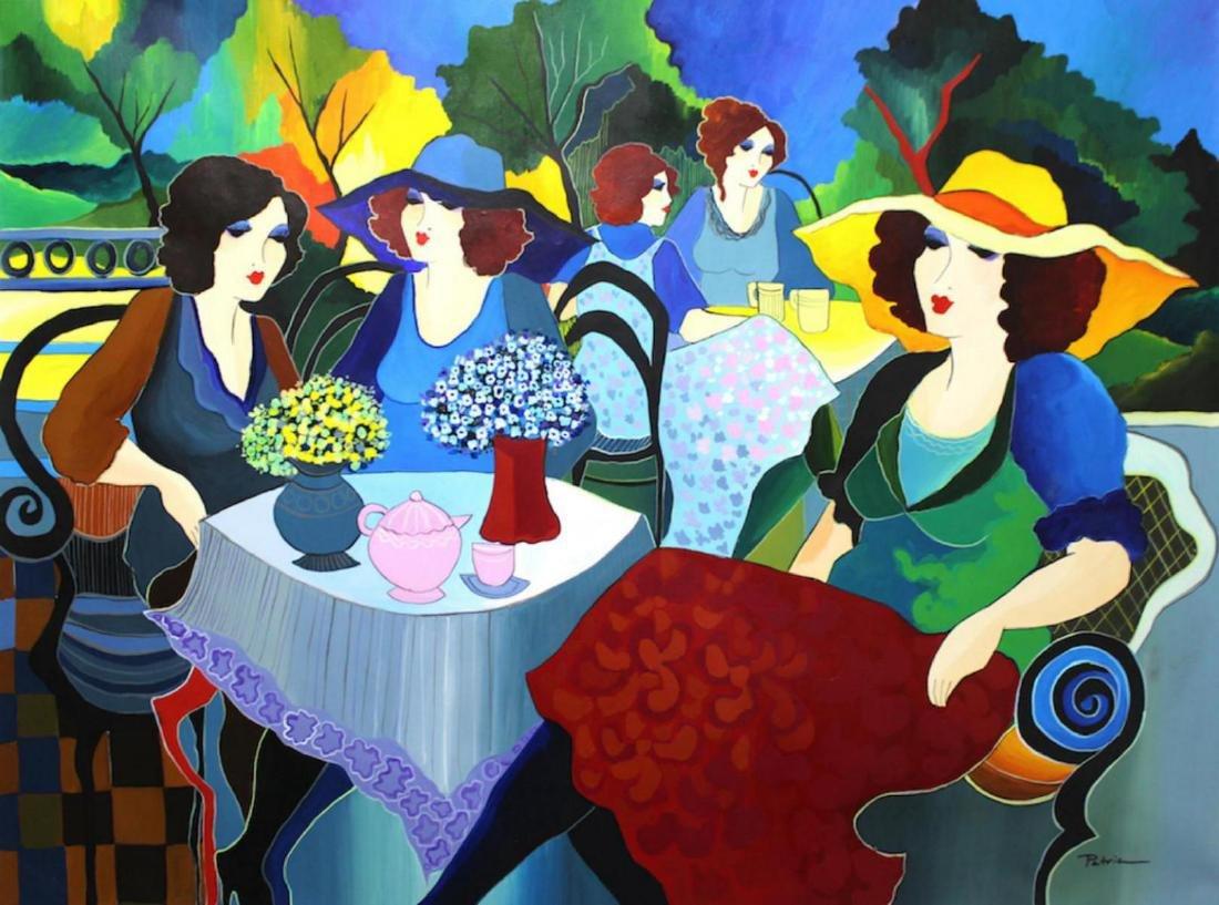 Patricia Govezensky Original one-of-a-kind Acrylic on