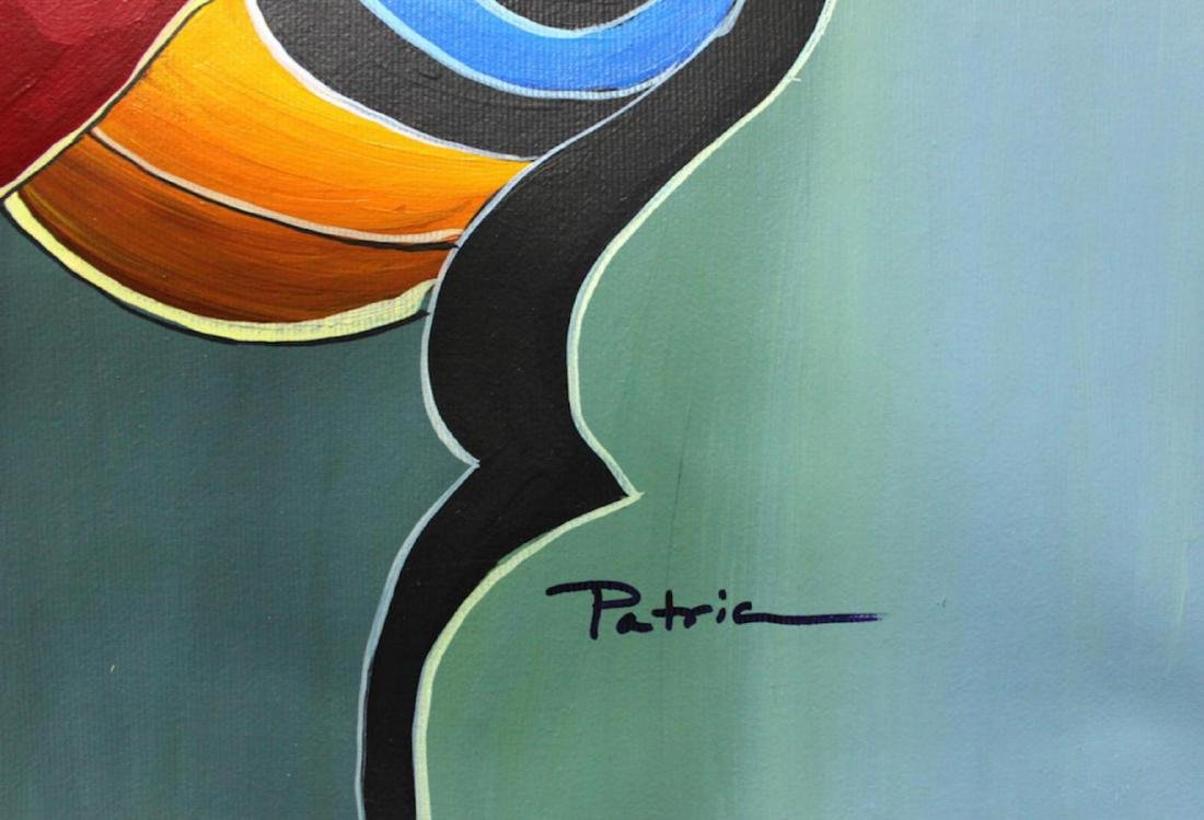 Patricia Govezensky Original one-of-a-kind Acrylic on - 2
