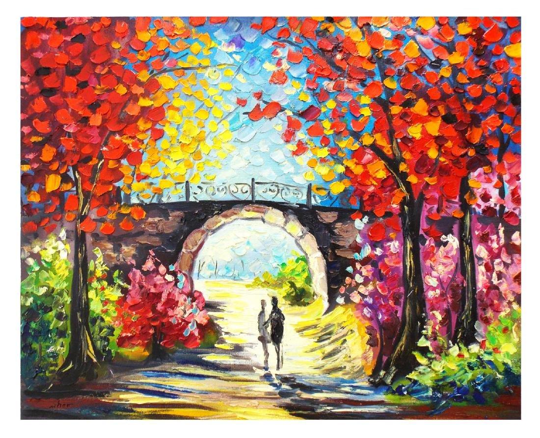 "Svyatoslav Shyrochuk- Original Oil on Canvas ""Love"