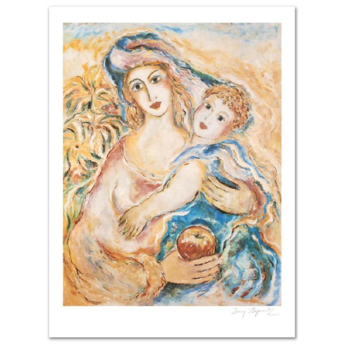 """Mother's Love"" Limited Edition Lithograph by Zamy"
